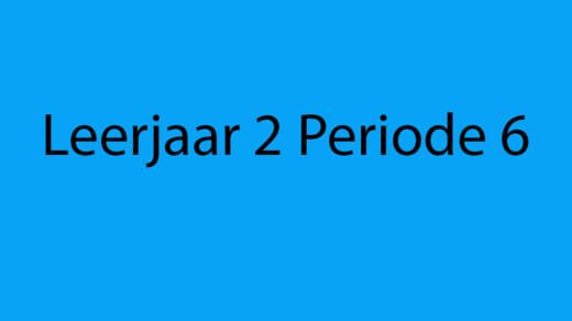 Animatie Periode 6
