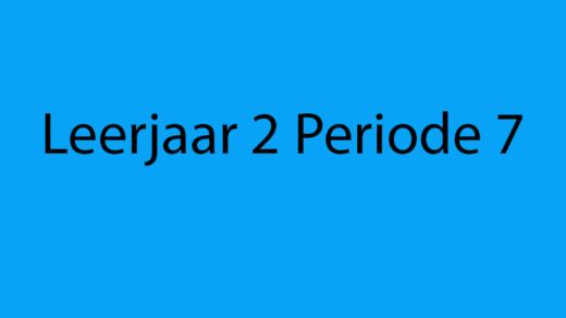 Animatie Periode 7